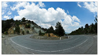 Pano on the Troodos Mountains road